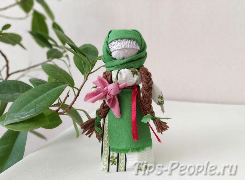 Народная кукла Весна своими руками – мастер класс с фото